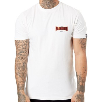 Clothing Men Short-sleeved t-shirts Sullen Antique White Quality Goods T-Shirt White
