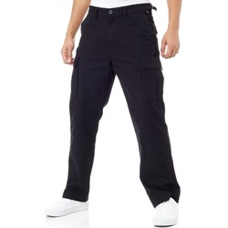 Clothing Men Trousers Vans Black Draft Cargo Pant Black