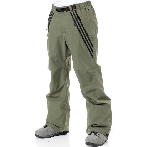 Clothing Men Tracksuit bottoms adidas Originals Base Green-Black Riding Snowboarding Pants Green