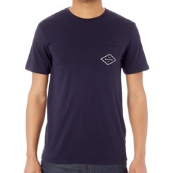 Clothing Men Short-sleeved t-shirts Rip Curl Night Sky Essential Surfers Pocket T-Shirt Blue