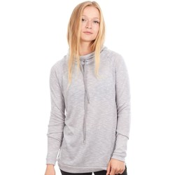 Clothing Women Sweaters O'neill Silver Melee Speckled Oth Womens Hoody Grey