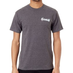 Clothing Men Short-sleeved t-shirts Hoonigan Charcoal Heather RS 2Hundred T-Shirt Grey