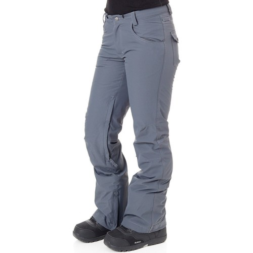 Clothing Women 5-pocket trousers Nikita Charcoal Cedar Womens Snowboarding Pants Grey