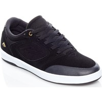 Shoes Men Low top trainers Emerica Black-White-Gold Dissent Shoe Black