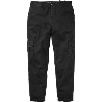 Clothing Men Cargo trousers Emerica Black Tour Cargo Pant Black