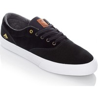 Shoes Men Low top trainers Emerica Black-White-Gum Provost Slim Vulc Shoe Black