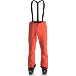 Clothing Men Cargo trousers Quiksilver Flame Orbitor Snowboarding Pants Orange