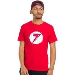 Clothing Men Short-sleeved t-shirts Seven Mx Static Red Dot T-Shirt Red