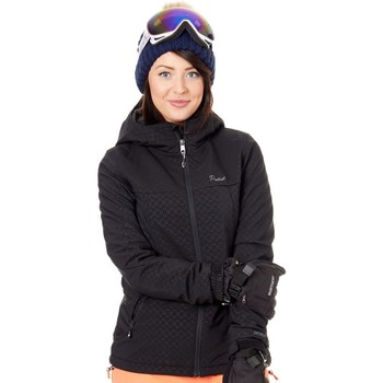 Clothing Women Macs Protest True Black Batida Womens Snowboarding Jacket Black