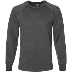 Clothing Men Sweaters O'neill Dark Grey Melee Cruizer Crew Snowboarding Sweater Grey