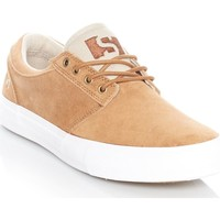 Shoes Men Low top trainers State Monks-Sand Suede Elgin Shoe Beige