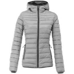 Clothing Women Duffel coats Acerbis Light Grey Peak 73 Womens Reversible Jacket Grey