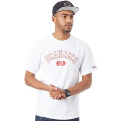 Clothing Men Short-sleeved t-shirts DC Shoes White Arch T-Shirt White