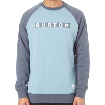 Clothing Men Sweaters Burton Stone Blue Vault Crew Raglan Sweater Blue