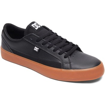 Shoes Men Low top trainers DC Shoes Black-Gum Lynnfield Shoe Black