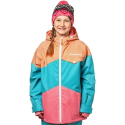 Clothing Girl Jackets Horsefeathers Heather Peach Adrien Girls Snowboarding Jacket Blue