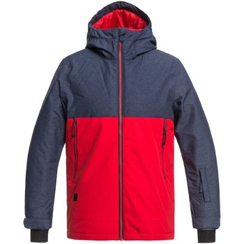 Clothing Boy Jackets Quiksilver Dress Blues Sierra Kids Snowboarding Jacket Blue