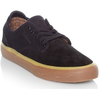 Shoes Men Low top trainers Emerica Black-Tan Wino G6 Shoe Black