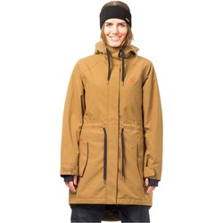 Clothing Women Parkas Horsefeathers Cumin Poppy Womens Snowboarding Jacket Brown