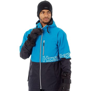 Clothing Men Macs Horsefeathers Blue Cline Snowboarding Jacket Blue