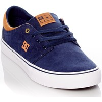 Shoes Men Low top trainers DC Shoes Navy-White Trase S Shoe Black