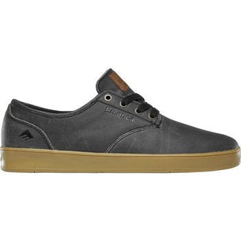 Shoes Men Low top trainers Emerica Black-Gold The Romero Laced Shoe Black