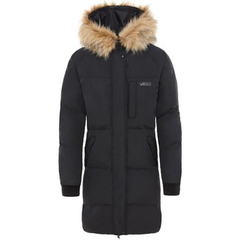 Clothing Women Coats Vans Black Pullman Puffer MTE Womens Jacket Black