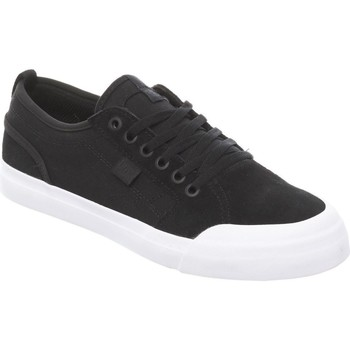Shoes Men Low top trainers DC Shoes Evan Smith Black-White Evan Kids Shoe Black