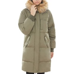 Clothing Women Coats Vans Dusty Olive Pullman Puffer MTE Womens Jacket Black