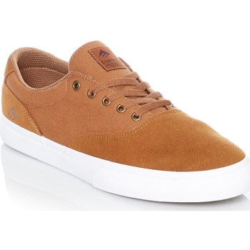 Shoes Men Low top trainers Emerica Tan-White Provost Slim Vulc Shoe Brown