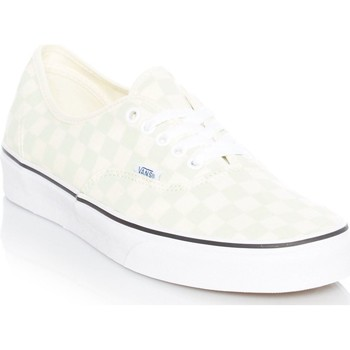 Shoes Men Low top trainers Vans Checkerboard-Ambrosia-Classic White Authentic Shoe Green