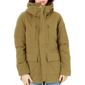Clothing Women Jackets Burton Hickory Albury Parka Womens Jacket Green