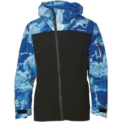 Clothing Men Jackets O'neill Blue Aop Jones Contour Snowboarding Jacket Blue