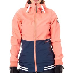 Clothing Women Jackets Planks Coral Reunion Womens Ski Jacket Red