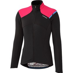 Clothing Women Jackets Shimano Black Performance Womens Cycling Jacket Black
