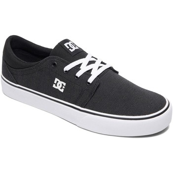 Shoes Men Low top trainers DC Shoes Black-Gun Metal Trase TX SE Shoe Black