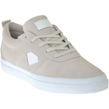 Shoes Men Low top trainers Diamond Supply Co. White Suede Icon Shoe White