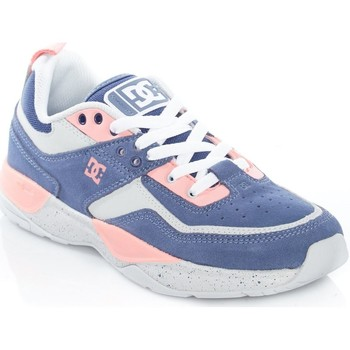 Shoes Women Low top trainers DC Shoes Blue-Pink E.Tribeka SE Womens Low Top Shoe Blue