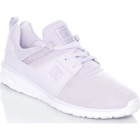 Shoes Women Low top trainers DC Shoes Lilac Heathrow Womens Low Top Shoe Purple