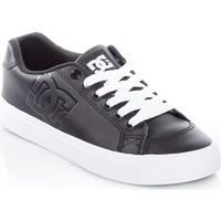 Shoes Women Low top trainers DC Shoes Black Chelsea Plus SE Womens Low Top Shoe Black