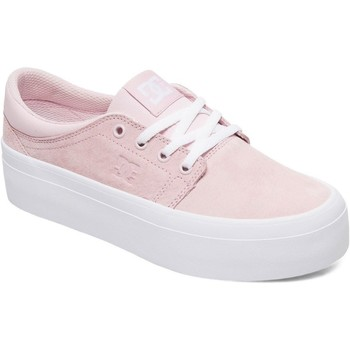 Shoes Women Low top trainers DC Shoes Pink Trase Platform SE Womens Low Top Shoe Pink