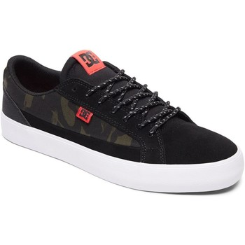 Shoes Men Low top trainers DC Shoes Camo Black Lynnfield SE Shoe Black