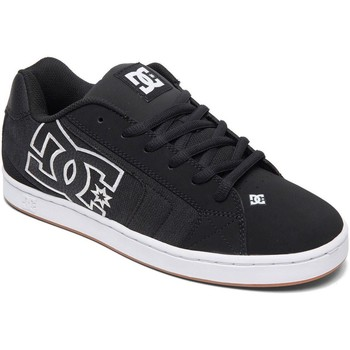 Shoes Men Low top trainers DC Shoes Black-Herringbone Net SE Shoe Black
