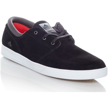 Shoes Men Low top trainers Emerica Black-White-White The Figueroa Shoe Black