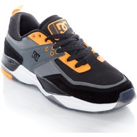 Shoes Men Low top trainers DC Shoes Black-Black-Dark Grey E. Tribeka S SE Shoe Black
