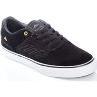 Shoes Men Low top trainers Emerica Black-Gold-White The Reynolds Low Vulc Shoe Black