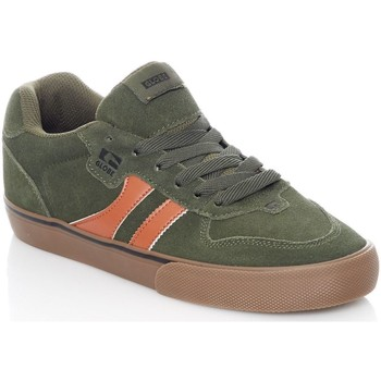Shoes Men Low top trainers Globe Forest Green-Tobacco Encore-2 Shoe Green