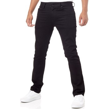 Clothing Men Slim jeans DC Shoes Black Rinse Worker Straight Stretch Jeans Black