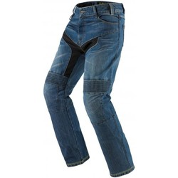 Clothing Men Straight jeans Spidi Blue Furious Azzurro-Special Order Motorcycle Jeans Blue