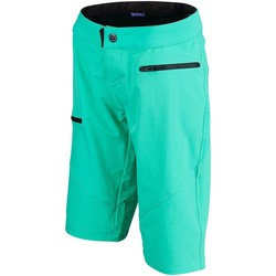 Clothing Women Shorts / Bermudas Troy Lee Designs Turquoise Ruckus Womens MTB Shorts Blue
